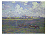 Horse Racing at Boulogne-Sur-Mer  1900
