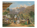 Alpine Marksmen Festival from the King-Ludwig-Album
