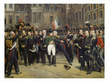 Napoleon I Bidding Farewell toImperial Guard atChateau De Fontainebleau  20th April 1814