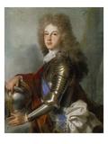 Bildnis des Philipp Von Frankreich (Seit 1700 Als Philipp V Koenig Von Spanien)