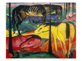 Three Horses  1913