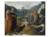 Apollo  Pallas and the Muses