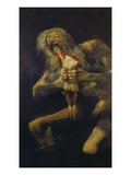 Saturn Devouring One of His Children  1820-23