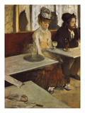 In a Cafe  or the Absinthe  1875/76