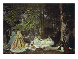 Le Dejeuner Sur L&#39;Herbe  1866