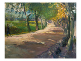 Road in Godramstein  1909