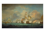 The Battle of Trafalgar  21st October 1805 Painted 1806