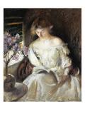 Girl Reading  1902