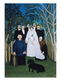 A Rural Wedding  1905