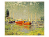 Red Boats  Argenteuil  1875