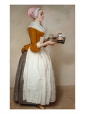 The Hot Chocolate Girl  about 1744/45