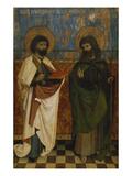 Hofer Altar Aussenseite die HllBartholomaeus Und James