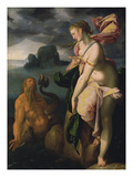 Glaucus and Scylla  about 1581
