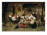 Ein Kinderfest (Der Katzentisch) 1868