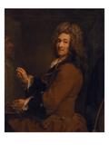 Selbstbildnis Vor Der Staffelei  Um 1720