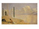 Kirgisische Reiter Ueberfallen Ein Expeditionscorps  1871