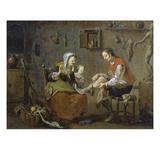 Im Bildhauer-Atelier  1752/54