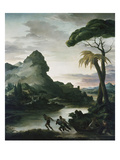 Heroic Landscape with Fishermen  1818