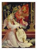 Isenheimer Altar Zweite Schauseite  Mittelbild: Detail Aus Engelskonzert