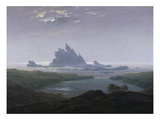 Felsenriff Am Meeresstrand  1824