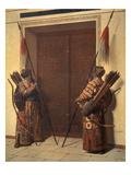 Die Tueren Des Timur-Mausoleums in Samarkand  1871/72