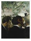 Musiciens a L'Orchestre  1872