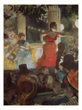 Cafe Concert at Les Ambassadeurs  1875/77