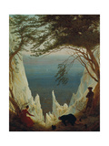 Chalk Cliffs on Ruegen  1818/1819