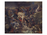 The Battle of Taillebourg  21st July 1242  1837