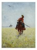 Auf Der Faehrte  1881