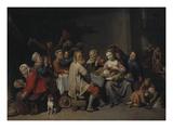 The Bean Feast  1648