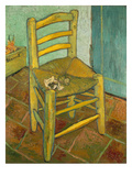 Van Gogh&#39;s Chair  1888/89