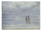 Boys Bathing on the Beach at Skagen  1899