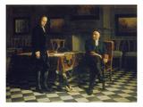 Peter I Verhoert Den Zarewitsch Alexei Petrowitsch in Peterhof  1871