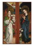 Verkuendigung Mariae Fluegel Vom Orlier- Altar  1465/1479