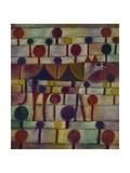 Kamel in Rhythmischer Baumlandschaft  1920