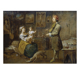 Die Familie Des Malers  1752/54