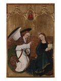 Hofer Altar Inner Side Annunciation