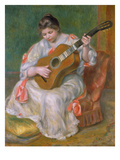 Woman with Guitar  1897