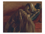 Emilie  the Artist's Sister  Asleep  about 1848