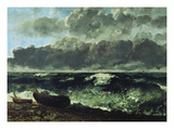 The Stormy Sea or the Wave  1870