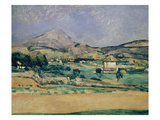 Blick Zum Mount Saint-Victoire  1882/85