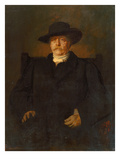 Portrait of Otto Von Bismarck in Civilian Dress  1884