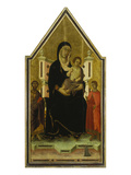 The Madonna and Child Enthroned with Saints Bartholomew and Ansanus and a Small Donor