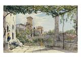 Villa Malta  Rome  about 1840