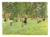 Playing Children in the Park  1882