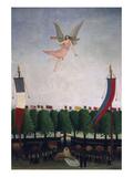 Die Freiheit Laedt die Kuenstler Zum 22 Salon Der Unabhaengigen Ein  1906