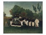 The Artillerymen  about 1895