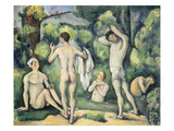 The Five Bathers  ca 1880-82