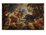 Die Jagd des Meleager Und Der Atalante  um 1615/20